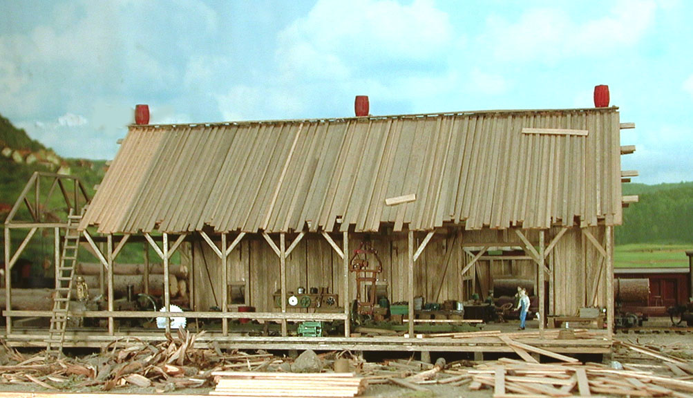 The Glanville Lumber Co  Sawmill