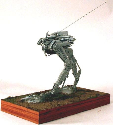 kitbashed robot