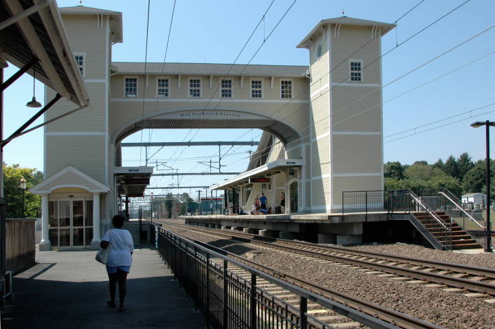 Amtrak Station at Old Saybrook, Connecticut — 25 August 2009