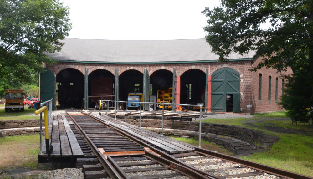 Restored Roundhouse, Connecticut Eastern Railroad Museum