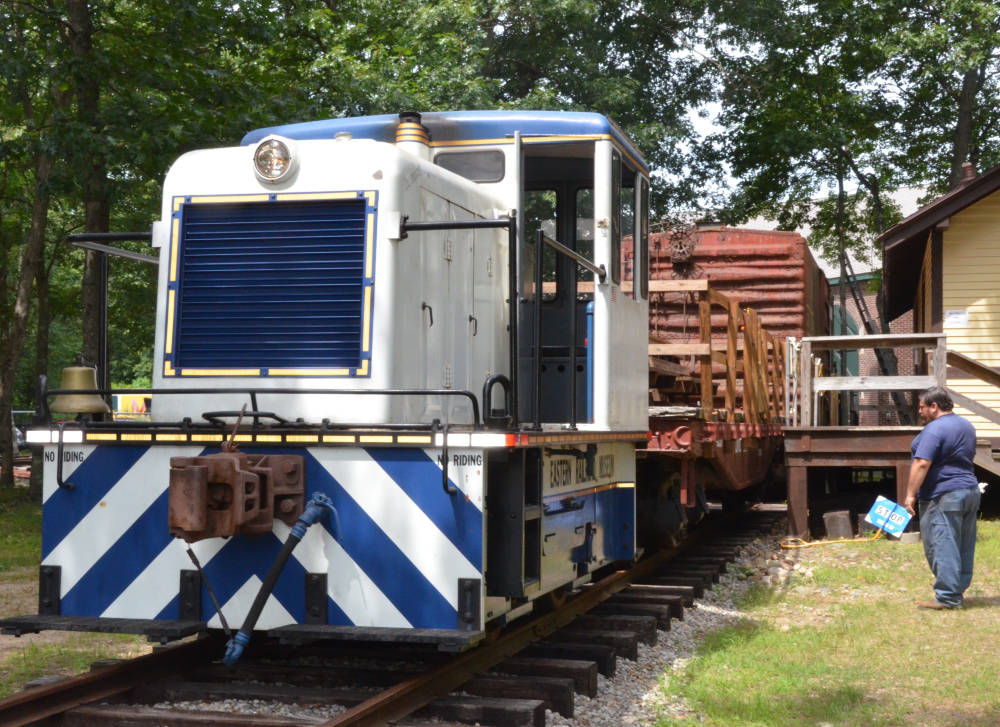 Diesel Switcher, Connecticut Eastern Railroad Museum