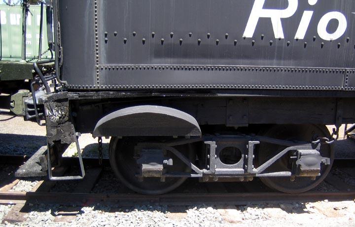 Colorado and Southern 4-wheel caboose no  1009