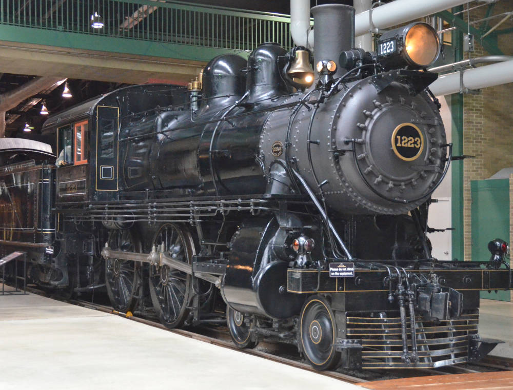 pennsylvania railroad no  1223  a 4