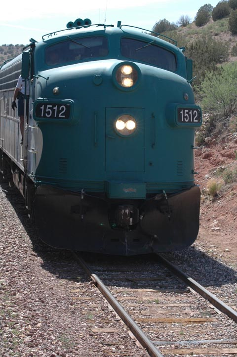 the verde canyon railroad