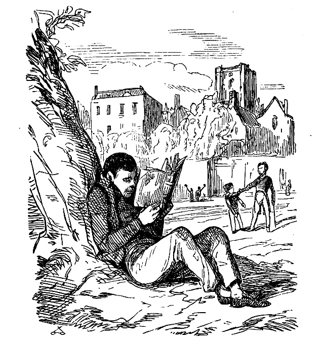 Four  Youthful Heroics in Hughes, Dickens and Thackeray