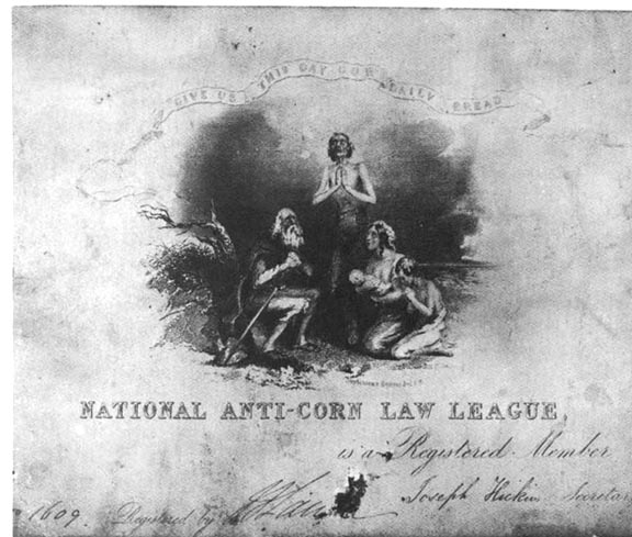 repeal of the corn law