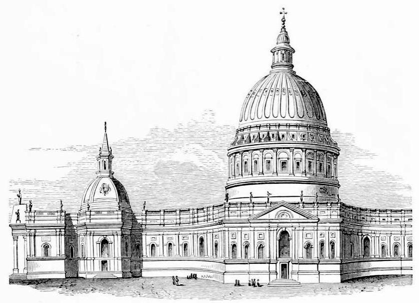 christopher wren's designs for st paul's Towards the end of his long life, christopher wren paid a heart-rending visit to st paul's cathedral, the building he called his greatest work turning the corner of cheapside, he saw his .