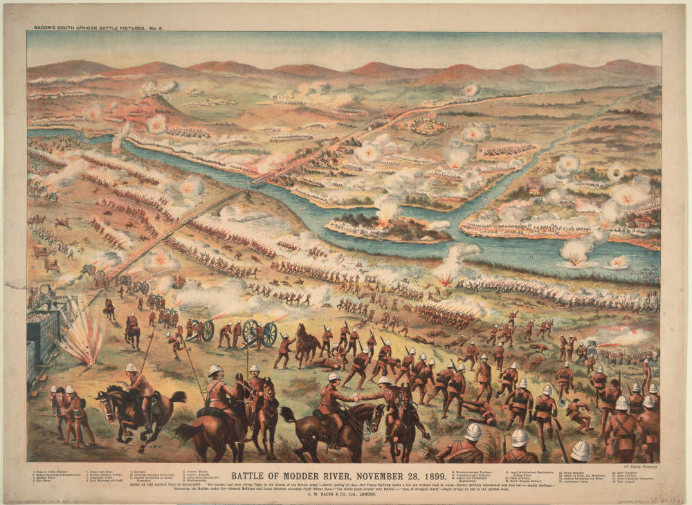 Battle of Modder River, November 28, 1899