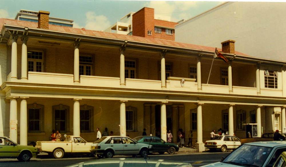 Colonial Architecture In Rhodesia Modern Zimbabwe