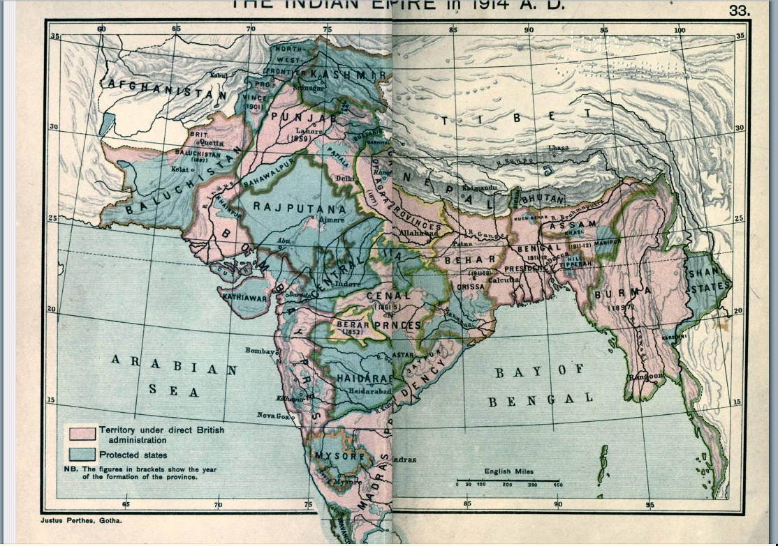 British Colonial India — Political and Miitary History