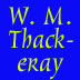 WM Thackeray