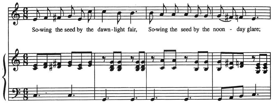 Chapter 5c  Sacred Songs — Gospel Song
