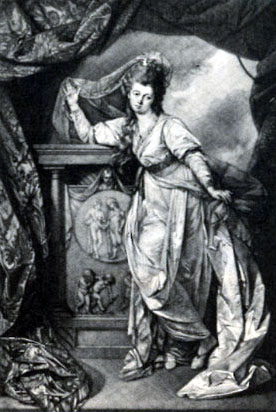 Miss Farren in the winter's tale
