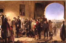 Barrett's Florence Nightingale Receiving the Wounded at Scutari