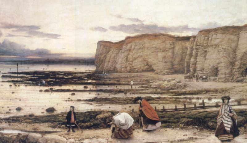 William Dyce, Pegwell Bay, Kent—A Recollection of October 5th 1858, Tate, London