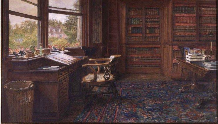 Excellent The Empty Chair By Sir Samuel Luke Fildes R A 1844 1927 Download Free Architecture Designs Griteanizatbritishbridgeorg