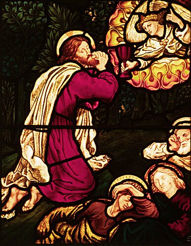 The Agony in the Garden by Sir Edward Burne-Jones and and ...