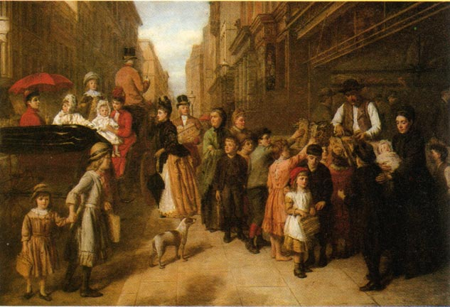 Image by William Powell Frith, Whitechapel Art Gallery, London