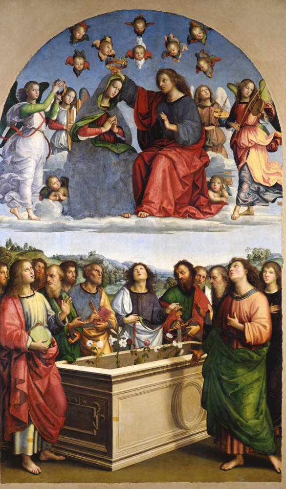 Raphael's The Coronation of the Virgin