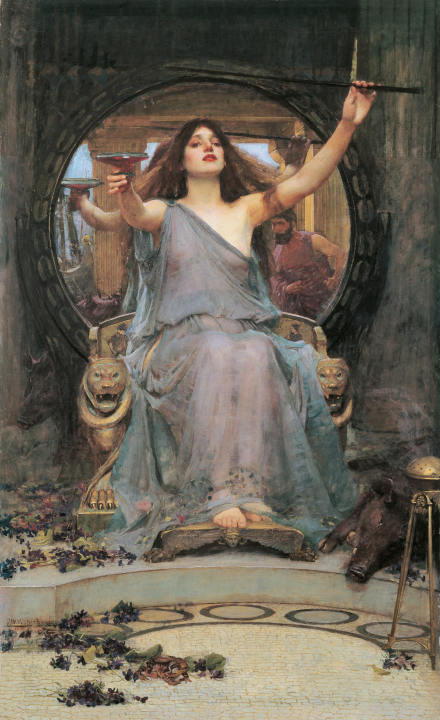 Waterhouses's Circe