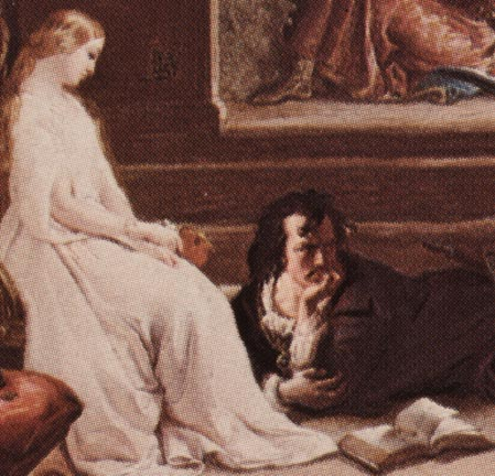 Gertrude Hamlet Painting