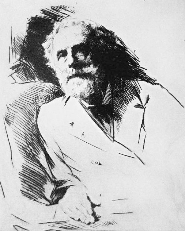 Mortimer Menpes' Sketch of Meredith