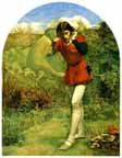 Millais's Ferdinand and Ariel
