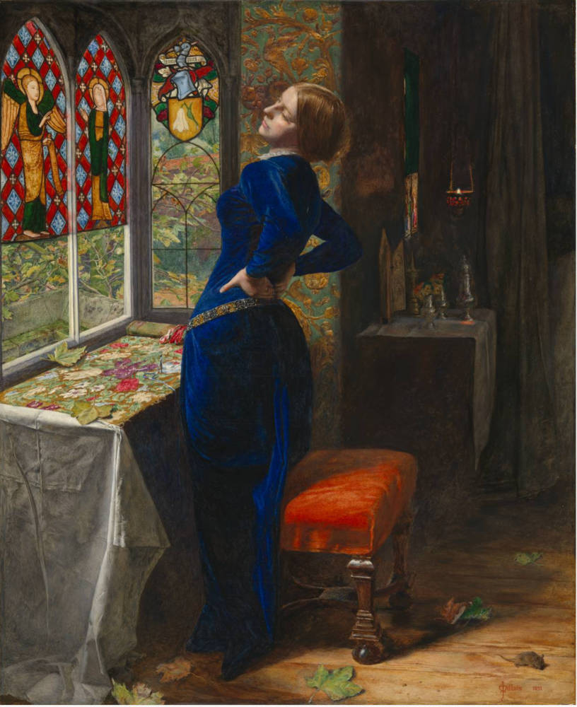 'Mariana' by Millais