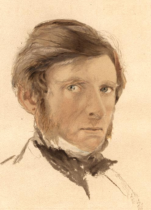 Ruskin Self-portrait