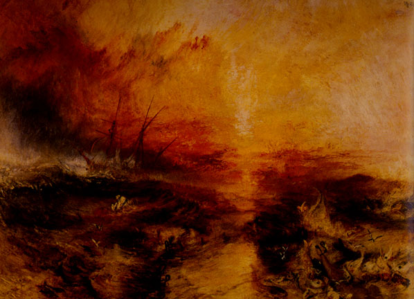 a visual art analysis of slave ship a painting by jmw turner Joseph mallord william turner the slave ship 1840  painting analysis  if you have another image of the slave ship 1840 that you would like the artist to work .