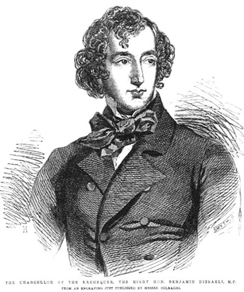 Disraeli in 1852