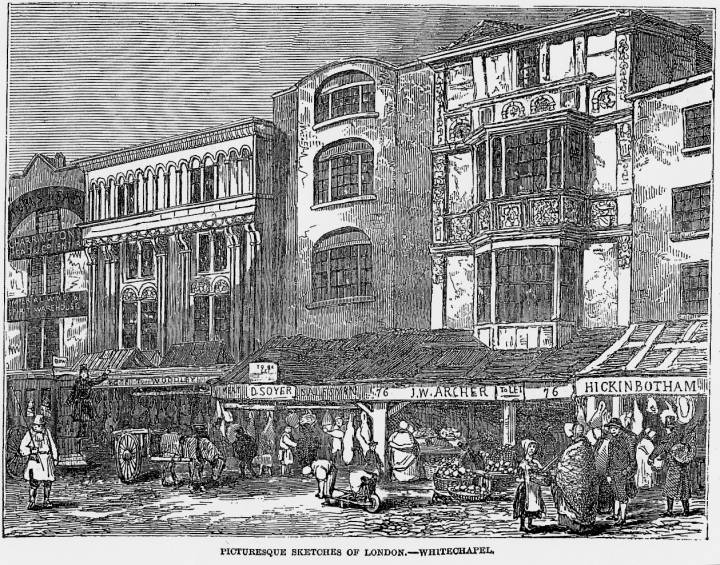 living conditions in victorian england