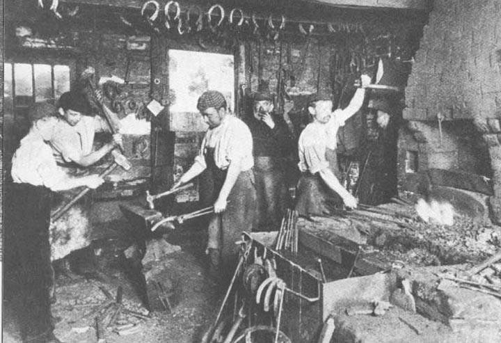 A Victorian Blacksmith's Shop