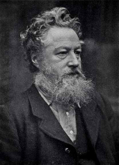 Emery Walker's photograph of Morris