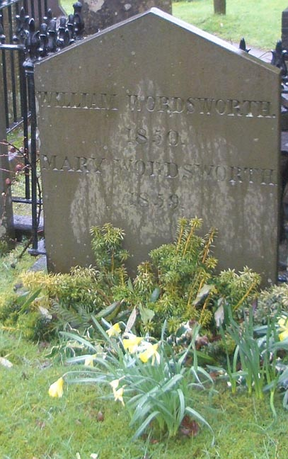 William and Mary Wordsworth Grave
