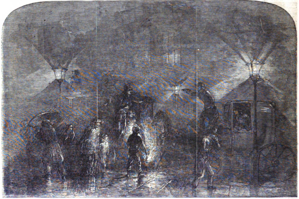 A london fog from the 1849 illustrated london news a london fog solutioingenieria Images