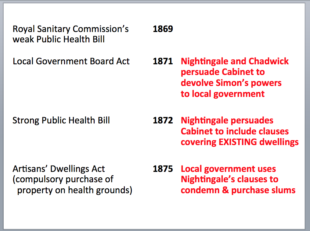 the evidence that she influenced this legislation is recorded in detail for the first time in the new 2013 edition of florence nightingale avenging angel
