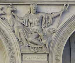 allegory of Australia