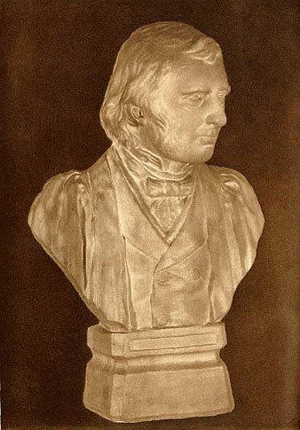 Cresick's Bust of Ruskin