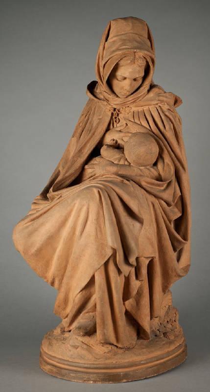 Mother And Child M 232 Re Et Enfant By Aim 233 Jules Dalou