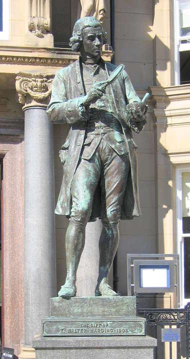 Joseph Priestley by Alfred Drury, R A