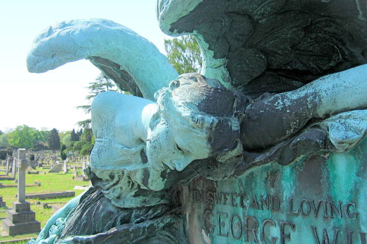 The angel of death — george william lancaster memorial by