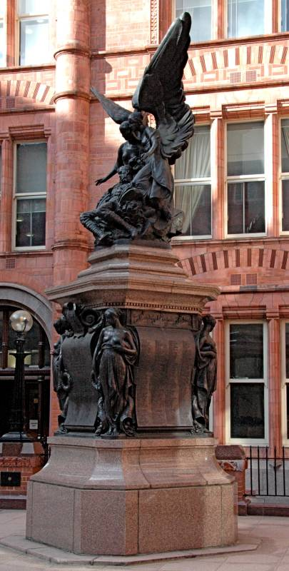 World War I Memorial In Waterhouses S Prudential Assurance