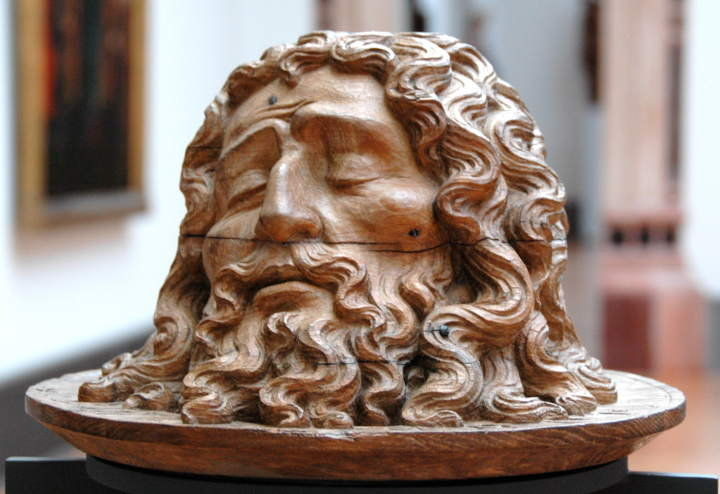 John The Baptist Head On Display