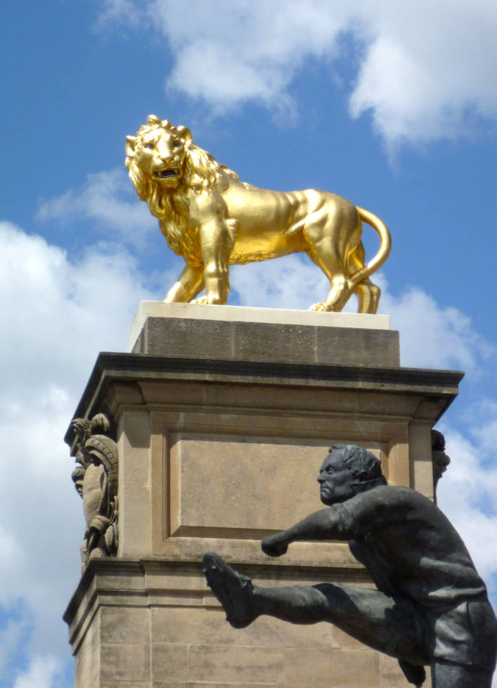 The Rugby Union Lion Twickenham By
