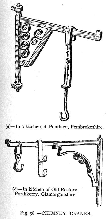 What the housewife used to cook meals: fireplace hangers, pot ...