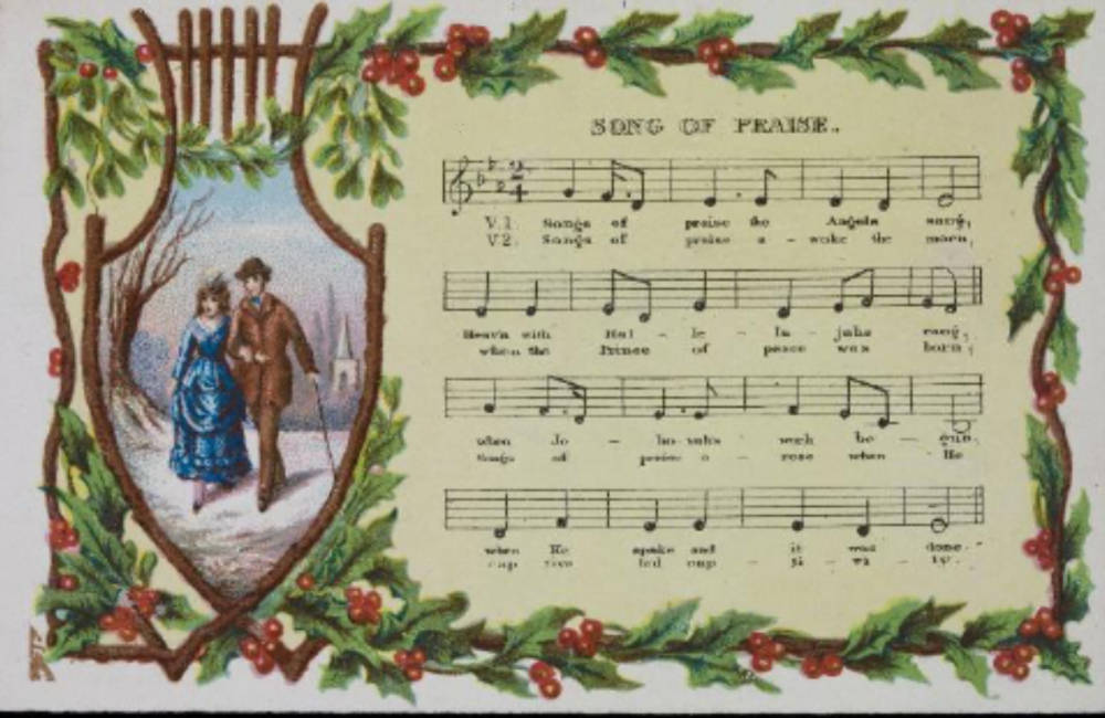 Victorian Christmas Cards An Everyday Work Of Art