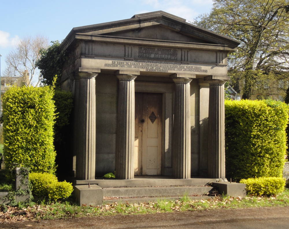 Imre Kiralfi Mausoleum. Kensal Green Cemetery, London