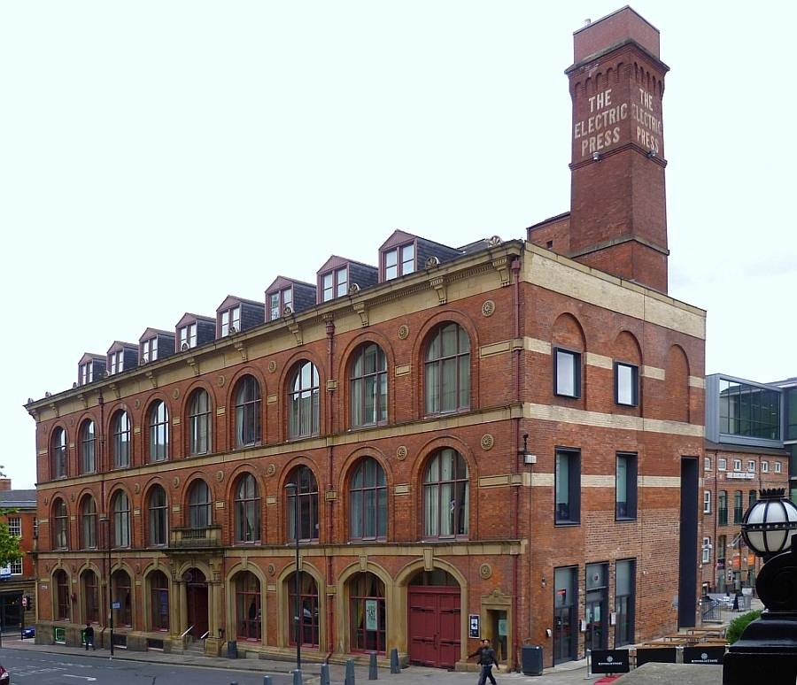 39 Cookridge Street Corner Warehouse