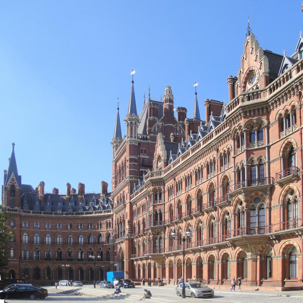 St pancras station and midland grand hotel london for Architecture xix